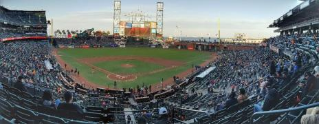 Giants ballpark PANORAMA